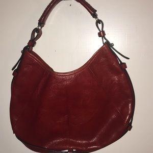 Wilson's Women's  Red Leather Handbag.